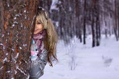 Фотосессия и первый снег KitaClub - лучший портал для девочек!