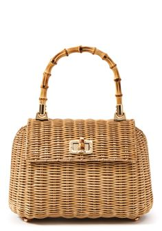 Picnic Satchel in Natural by J.McLaughlin