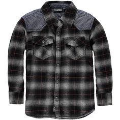 Edin Boys Mid blouseEdin Boys Mid blouse, deep black