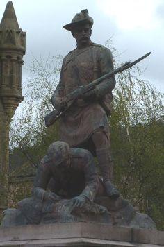 Falkirk Boer War Memorial War Memorials, Army Day, Memorial Museum, History Images, Military History, Hercules, Monuments, World War, Bespoke