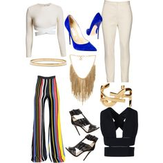 A fashion look from February 2015 featuring STELLA McCARTNEY tops, Elizabeth and James tops and Balmain pants. Browse and shop related looks.
