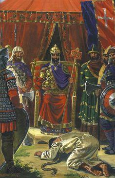 Byzantine Emperor Manuel I Komnenos (1118-1180, r. 1143-1180)
