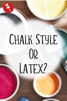 Chalk Style or Latex Paint? We break down why use chalk paint vs regular paint so you can choose the right paint for your next project! Painted Furniture For Sale, Chalk Paint Furniture, Distressed Furniture, Cool Furniture, Antique Furniture, Rustic Furniture, Modern Furniture, Upcycled Furniture, Industrial Furniture