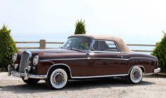 Mercedes-Benz W 180 220S cabriolet 1957