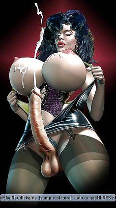 Adult comic erotic strip