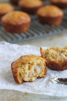 Made from pantry staples, these Brown Sugar Muffins have been a favorite for as long as I can remember!