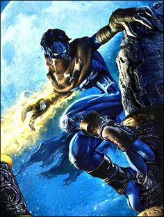 Raziel from Soul Reaver.  Gotta love a good anti-hero.