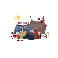 """""""day 7: vidcon"""" by sensitive-pajaro ❤ liked on Polyvore featuring Herbal Essences and Scotch Shrunk"""