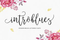 Introblues Script by Dhan Studio on @creativemarket