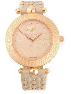 VERSACE 'Vanitas' quilted #watch #jewellery #versace #covetme #accessories #fashion #fbloggers #bankholidayweekend #OOTD