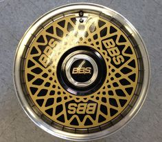 Then add the BBS Turbo Fans with the iconic BBS cross spokes painted on.