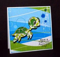 Created using Pretty Cute Stamps Sea Ya Soon Stamp Set