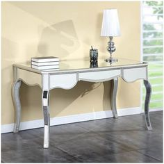 Elegant Lighting Camille Writing Desk with Drawers