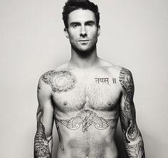 hot damn. i love his tatoos