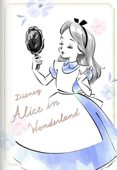 Disney Princess Cartoons, Disney Princess Drawings, Disney Princess Pictures, Disney Drawings, Alice In Wonderland Clipart, Alice And Wonderland Quotes, Queen Drawing, Alice Book, Disney Silhouettes