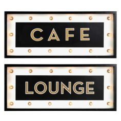 Marquee Sign | Wall Decor | Mirrors & Wall Decor | Decor | Z Gallerie