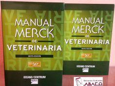 Manual merck de veterinaria #edicionesculturalesABACO