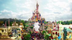 Disneyland Paris - Tilt Shift on Vimeo
