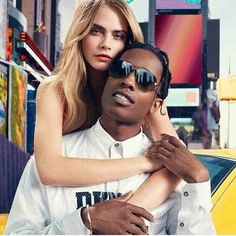 Cara DeIevingne, ASAP Rocky, fashion killa, national anthem, campaign, NYC, New York, blonde, swag, city, classy, models, style,