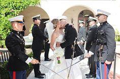 Laguna Beach, CA Military Wedding » Rally Point