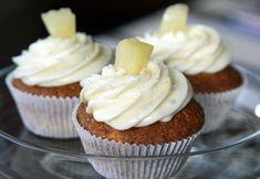 Hummingbird Cupcakes (mit Ananas und Nüssen)