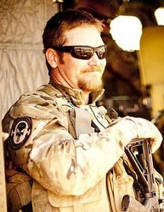 Former Navy SEAL sniper Chris Kyle. Over 150 confirmed kills in his career. Killed Saturday, 2nd Feb. 2013 near Glen Rose, Tx.  by a man he was trying to help.  Thank you for your service both on active duty and all you have done with our vets. Rest in peace.
