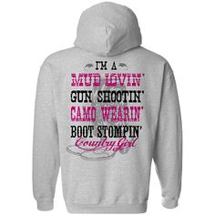 Women's Country Girl® Mud Lovin' Relaxed Pullover Hoodie