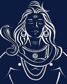 Lord Shankar - Maha Shivratri - Best Shivratri Wishes Wallpaper & Status Mahakal Shiva, Shiva Statue, Shiva Art, Hindu Art, Lord Shiva Sketch, Shiva Lord Wallpapers, Shiva Tattoo, Lord Mahadev, Lord Shiva Painting