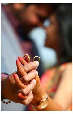 Indian Wedding Couple Photography, Indian Wedding Photography Poses, Wedding Couple Poses Photography, Couple Photoshoot Poses, Wedding Photoshoot, Engagement Ring Photography, Mehendi Photography, Wedding Shoot, Indian Engagement Photos
