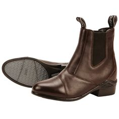 Dublin Defy Jodhpur Boots Traditionally styled and built to last, with a full grain leather upper and strong rubber sole. In a pull on style the Dublin Defy Boot is for confident individuals that know what they want.
