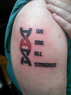 I like the 'A' as part of the DNA helix.