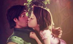 Tangled Rapunzel And Flynn HD Wallpaper