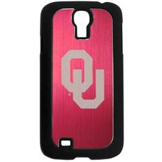 Oklahoma Sooners Samsung Galaxy S4 Etched Case