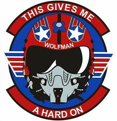 This WolfMan Helmet T-Shirt is printed on a T-Shirt and designed by MBK. Buy your own T-Shirt with a WolfMan Helmet design at Spreadshirt, your custom t-shirt printing platform! Top Gun Film, Top Gun Movie, Fighter Pilot, Fighter Jets, Tomcat F14, Maverick And Goose, Helmet Design, Aircraft Design, Nose Art