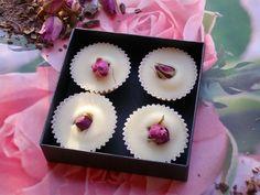 BADEPRALINEN *Rosenprinzessin* von Verzaubereien Seifen- und Naturkosmetikmanufaktur auf DaWanda.com