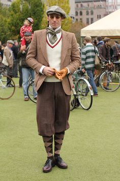 Tweed Run Stockholm