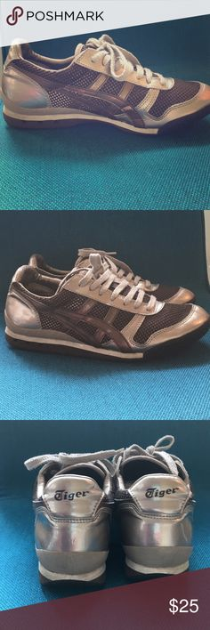 Women's Asics Tiger Sneakers Women's Asics Tiger Sneakers in excellent condition Onitsuka Tiger by Asics Shoes Athletic Shoes