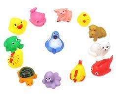 La vogue Juguetes Para El Baño-Diseño De Animales-13 Unidades