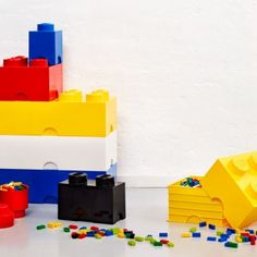 Room Copenhagen has designed a collection based on the imaginative world of The LEGO group to fill everyday life with fun. The LEGO Storage Brick system consists of oversized LEGO bricks, they are just like the original LEGO bricks.