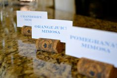 Weddings & Events by Jenna Laine: Bridal Shower: Monograms & Mimosas