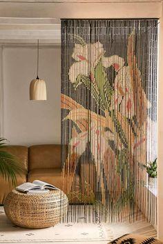 Iris Bamboo Beaded C