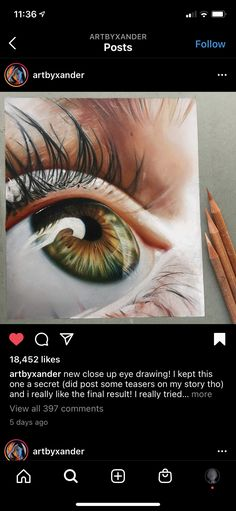 Eyes Artwork, Close Up, Drawings, Sketches, Drawing, Portrait, Draw, Grimm, Illustrations