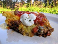 Taco cornbread bake - I'm going to do this version, with the green chiles in the cornbread mix...I love making cornbread casseroles in my Le Creuset, so this one is slightly different than the version I have done...will be making it this week. http://www.plainchicken.com/2011/08/taco-cornbread-bake.html