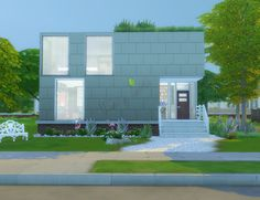 Open ECO House at Mony Sims via Sims 4 Updates