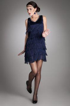 Robe femme charleston