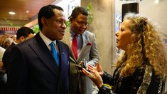 Pastor Chris invited to a Special Reception