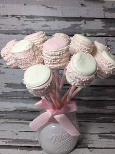 12 Chocolate Dipped Marshmallows First Birthday Party Baby Shower Favors Pink Princess Blush Pink Sw Fiesta Baby Shower, Baby Shower Favors, Baby Shower Parties, Baby Shower Decorations, Chocolate Dipped Marshmallows, Marshmallow Dip, White Marshmallows, First Birthday Parties, First Birthdays