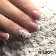What can be better than perfect French with a deep smile line and cute snowflakes ❄️? Only my pinecones  feels like winter in the salon #gelcolor #foxy_nails_roseville #foxy_nails_by_olga #rosevillenails #snowflakenails #winternails❄️ #hardgelnails #sculpturednails @crystal_nails_official @nailstyle_official @nailpromagazine #nailpro #mailmasterusa #nails_roseville #lovenails❤️