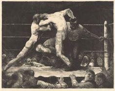 Джордж Уэсли Беллоуз Бой у Шарки 1917, 55.5×70.2см.