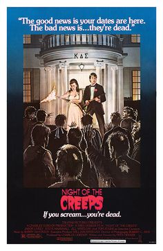 Night of the Creeps movie posters at movie poster warehouse movieposter.com